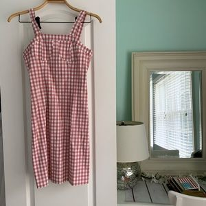 PetiteStudioNYC gorgeous gingham mini dress!